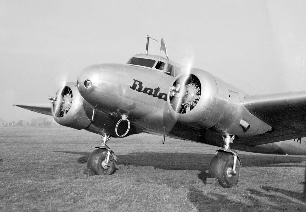 Letoun Lockheed Electra, 1937