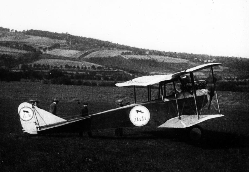 První Baťovo letadlo, Albatros z roku 1924