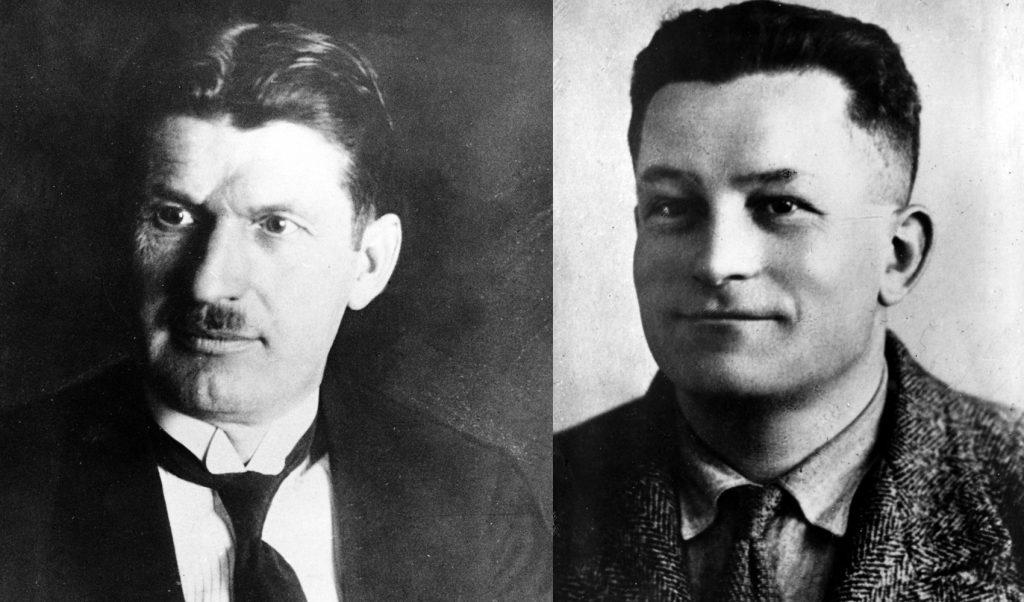 Tomáš Baťa a pilot Jindřich Brouček