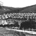 Pohled přes továrnu k Letné, 1936