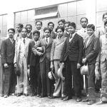 Baťova škola práce – skupina Indů, 1933