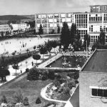 Pohled do školní čtvrti, 1938