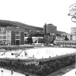 Pohled na západní část školní čvrti, 1936