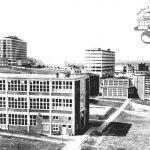 Pohled od školní čtvrti k náměstí Práce, 1934