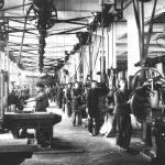 Pohled do strojírny, 1924