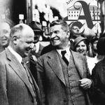 Tomáš Baťa se skupinou inženýrů a architektů, 1932