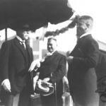 Zlínský starosta T. Baťa vítá presidenta Masaryka 24. 6. 1928