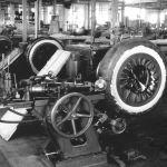 Výroba pneumatik Baťa, 1933