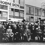 Návštěva francouzských průmyslníků ve Zlíně, 1929