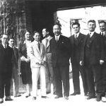 Čínský velvyslanec ve vile T. Bati, 1929