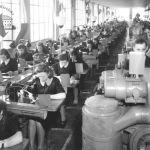 Výroba v obuvnické dílně, 1939