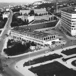 Pohled od náměstí Práce na Štefánikovu ulici, 1937